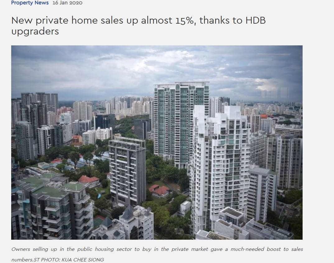 Leedon-Green-New Private Home Sales Up Almost 15%