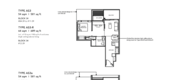 Leedon-Green-1-bedroom-+-study-AS3-floor-plan-Singapore