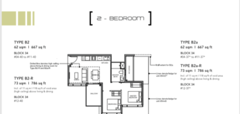 Leedon-Green-2-bedroom-B2-floor-plan-Singapore