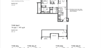Leedon-Green-2-bedroom-B4-floor-plan-Singapore