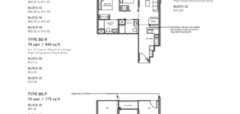Leedon-Green-2-bedroom-B5-floor-plan-Singapore