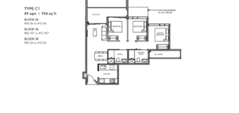Leedon-Green-3-bedroom-C1-floor-plan-Singapore