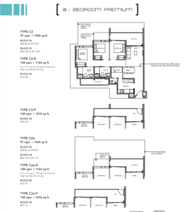 Leedon-Green-3-bedroom-premium-C2-floor-plan-Singapore